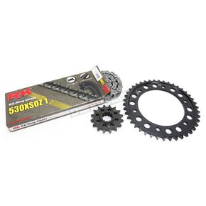RK Natural Honda 530 XSO-Z1 Chain and Sprocket Kit - 1102-080E