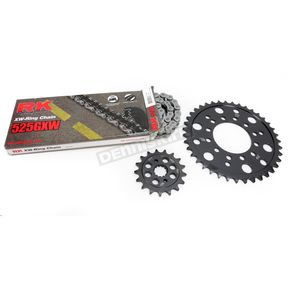 RK Natural Kawasaki 525 GXW Chain and Sprocket Kit  - 2108-040E