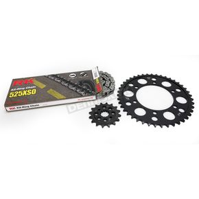 RK Natural Suzuki 525XSO Chain and Sprocket Kit  - 3066-110E