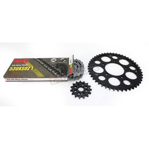 RK Natural Suzuki 530XSO-Z1 Chain and Sprocket Kit  - 3074-890E
