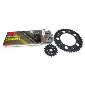 RK Natural Suzuki 530XSO-Z1 Chain and Sprocket Kit  - 3106-010E