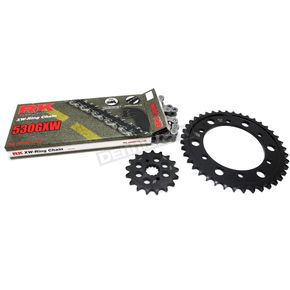 RK Natural Suzuki 530GXW Chain and Sprocket Kit  - 3136-990E