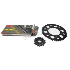 RK Natural Yamaha 530 XSO-Z1 Chain and Sprocket Kit - 4107-040E