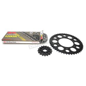 RK Natural Yamaha 530XSO-Z1 Chain and Sprocket Kit  - 4107-090E