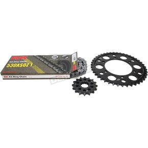RK Natural Yamaha 530XSO-Z1 Chain and Sprocket Kit - 4107-980E