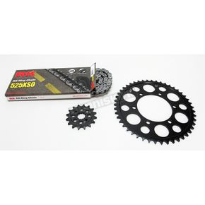 RK Natural Yamaha 525XSO Chain and Sprocket Kit  - 7062-080E