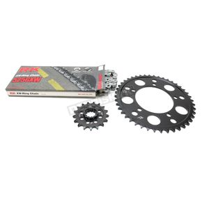 RK Natural BMW 525GXW Chain and Sprocket Kit - 9101-090E