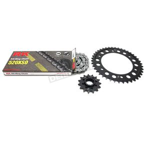 RK Natural 520 XSO Quick Acceleration Kit w/Steel Sprockets - 1062-079P
