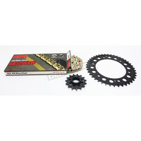 RK Gold Honda GB520GXW Acceleration Chain with Steel Sprocket - 1102-089PG