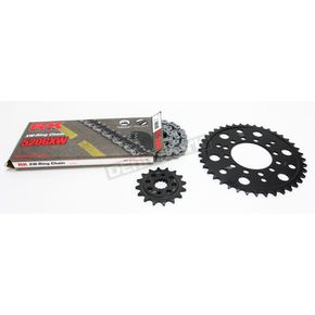 RK Natural Kawasaki 520GXW Quick Acceleration Chain with Steel Sprocket  - 2108-069P