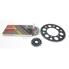 RK Natural Yamaha 520GXW Quick Acceleration Chain with Steel Sprocket  - 4107-069P
