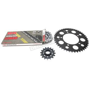 RK Natural BMW 520GXW Quick Acceleration Chain with Steel Sprocket  - 9101-129P
