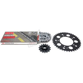 RK Natural BMW 520GXW Quick Acceleration Chain with Steel Sprocket  - 8101-119P