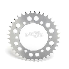 British Customs Polished Retro Style Rear Sprocket - BC705-001-37-P