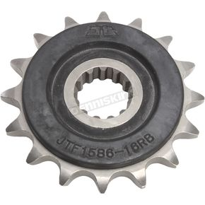 JT Sprockets Front Rubber Cushioned Sprocket - JTF1586.16RB