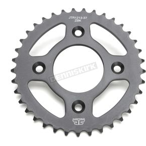 JT Sprockets Induction Hardened Black Zinc Finished 37 Tooth Rear Sprocket - JTR1213.37ZB