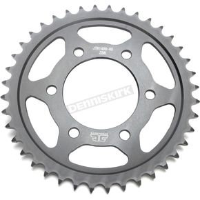 JT Sprockets Induction Hardened Black Zinc Finished 525 40 Tooth Rear Sprocket - JTR1489.40ZB