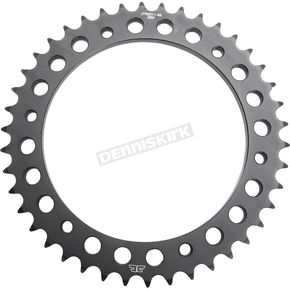 JT Sprockets Induction Hardened Black Zinc Finished Rear 42 Tooth Sprocket - JTR2011.42ZB