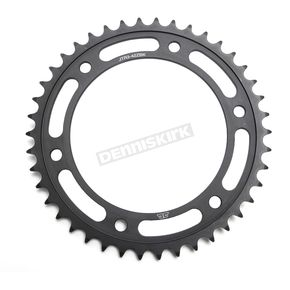 JT Sprockets Induction Hardened Black Zinc Finished 42 Tooth Rear Sprocket - JTR3.42ZBK