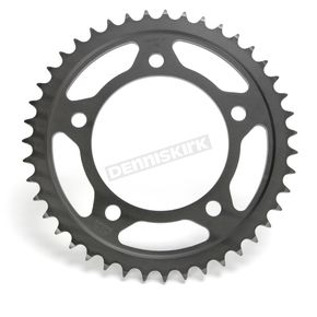 JT Sprockets Induction Hardened Black Zinc Finished 43 Tooth Rear Sprocket - JTR302.43ZBK