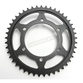 JT Sprockets Induction Hardened Black Zinc Finished 530 45 Tooth Rear Sprocket - JTR479.45ZBK