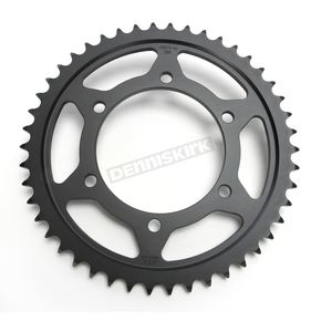 JT Sprockets Induction Hardened Black Zinc Finished 530 46 Tooth Rear Sprocket - JTR479.46ZBK