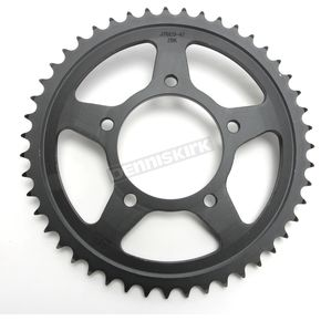 JT Sprockets Induction Hardened Black Zinc Finished 530 47 Tooth Rear Sprocket - JTR829.47ZBK