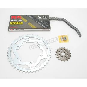 RK 525XSO Chain and Sprocket Kit - 3066-970W