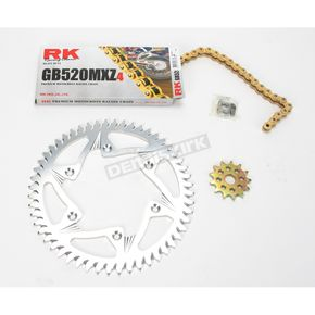 RK GB520MXZ Chain and Sprocket Kit - 1012-028ZG