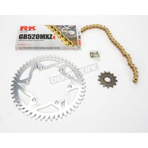 RK GB520MXZ Chain and Sprocket Kit - 2022-028ZG
