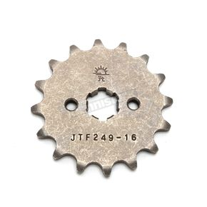JT Sprockets Front Chromoly Steel Alloy 420 16 Tooth Sprocket - JTF249.16