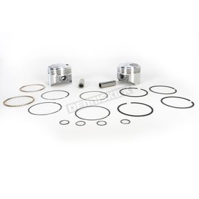 KB Performance Piston Kit - 3.508 in. Bore/9.5:1 Ratio - KB297.010