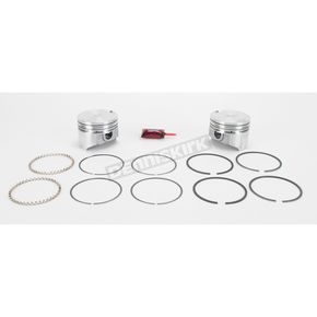 KB Performance Piston Kit - 3.538 in. Bore/8.5:1 Ratio - KB258.040