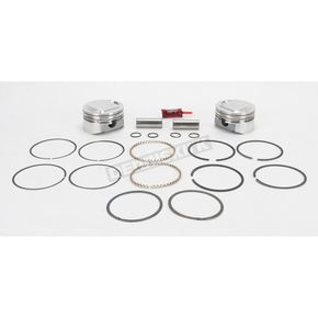 KB Performance Piston Kit  - 3.895 in. Bore/10.5:1 Ratio - KB411020