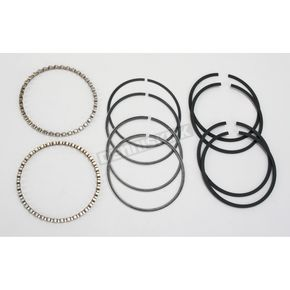 Hastings Piston Ring Set - 3.457 in. Bore - 6482-020