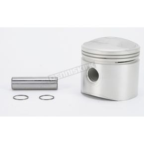 Drag Specialties Low Compression Piston - 3.457 in. Bore/7.5:1 Ratio - DS-750712