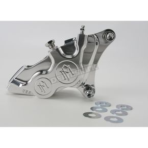 Performance Machine Direct Bolt-On 4-Piston Polished Right Caliper - 0053-2916-P