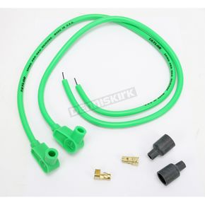 Sumax Green Universal 8mm Pro Wire Set w/90 Degree Boot - 76981