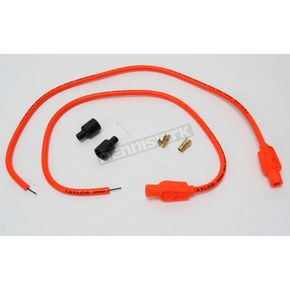Sumax Orange Universal 8mm Pro Wire Set w/180 Degree Boot - 76885