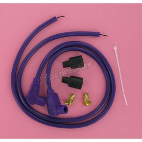 Sumax Purple Universal 8mm Pro Wire Set w/90 Degree Boot - 76381