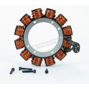 Drag Specialties 4-Wire Alternator Stator-Uncoated - DS-195096