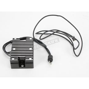 Mid USA Electronic Regulator/Rectifier-Black - 16265
