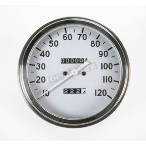 Drag Specialties 1:1 Speedometer 36-40 Face - DS-243874