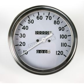 Drag Specialties 2:1 Speedometer 36-40 Face - DS-243876