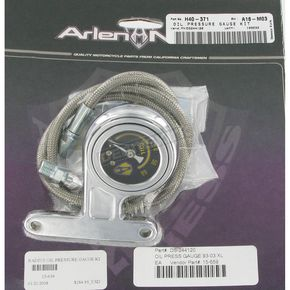 Arlen Ness Ness-Tech Oil Pressure Gauge Kit - 15-659