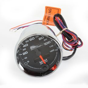 Pro-Cycle Black Face 2 5/8 in. Electronic Speedometer - 19340