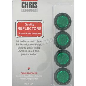 Chris Products License Plate Reflectors - CH4G