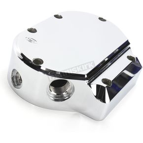 Joker Machine Smooth Chrome Transmission End Cover - 941228C