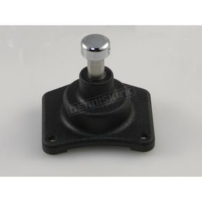 Custom Cycle Black Solenoid End Cover/Starter Button-1.2/1.4 Starter - SHS99003