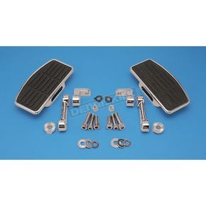 Custom Chrome Adjustable Mini Floorboard Kit - 09910